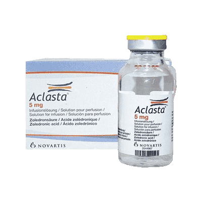 Aclasta (Reclast) 5mg (100ml – 1 vial) Non-English