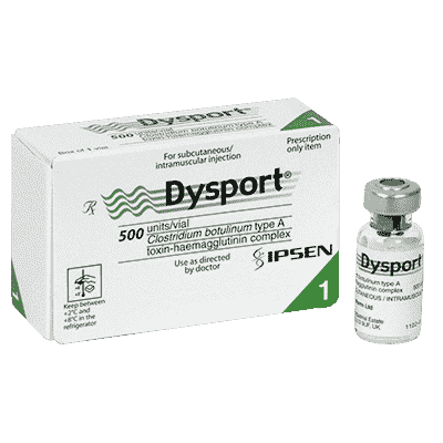 Dysport Czech Package 1 vial 500U